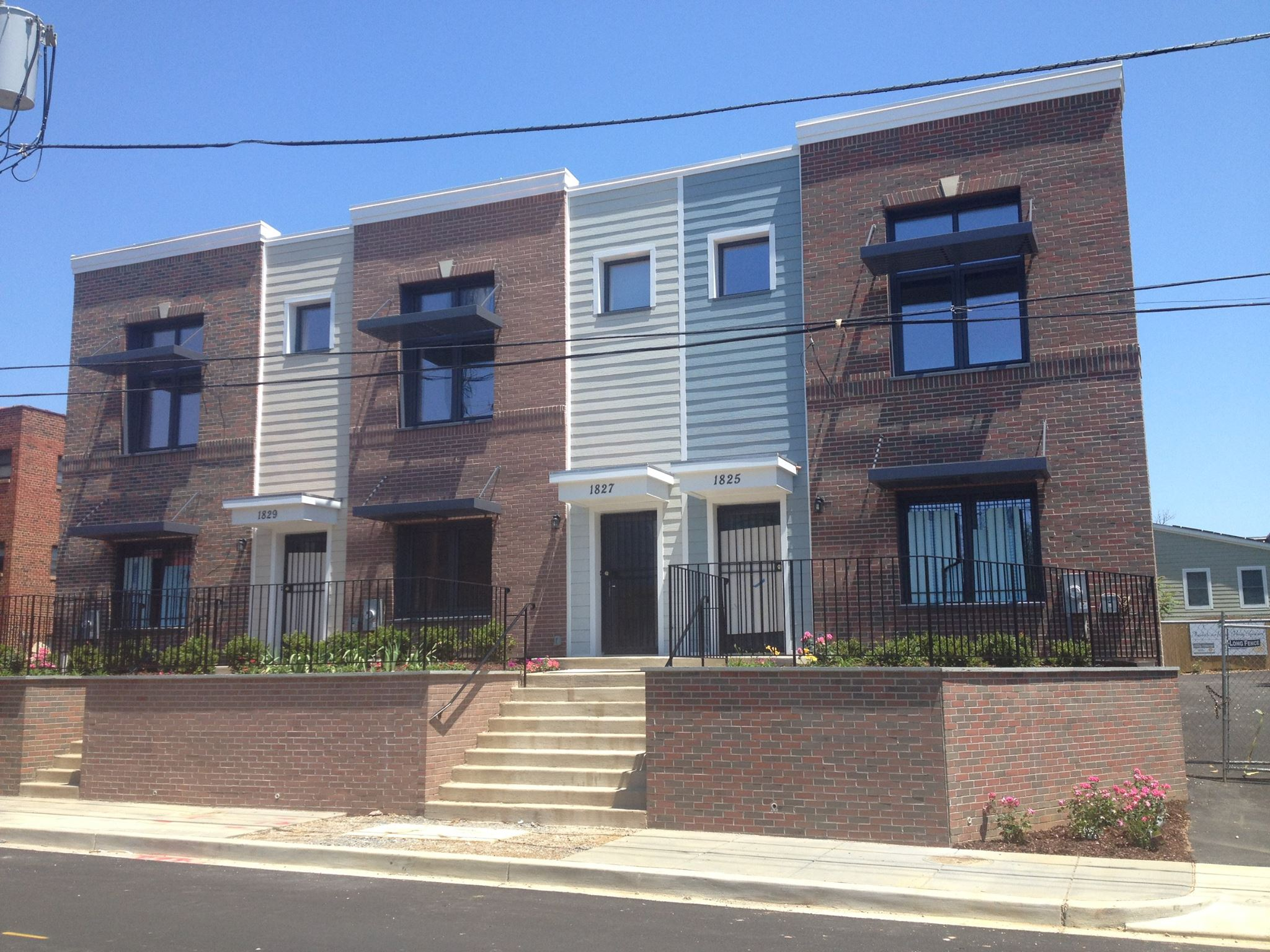 Ivy City Passive Houses Block A - Image Credit: HfH, Washington D.C.