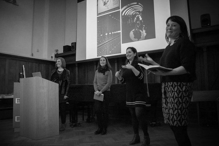 Sarah Lappin, Lola San Martin, Gascia Ouzounian and Ruth Bernatek