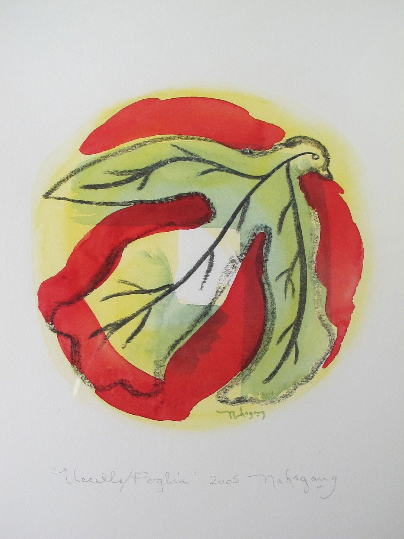 GREBE  -   watercolor