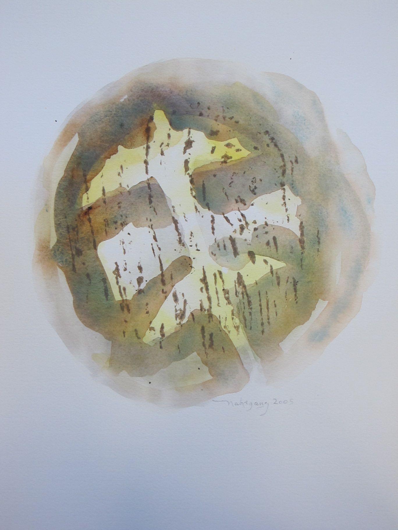 FINCH  -  watercolor