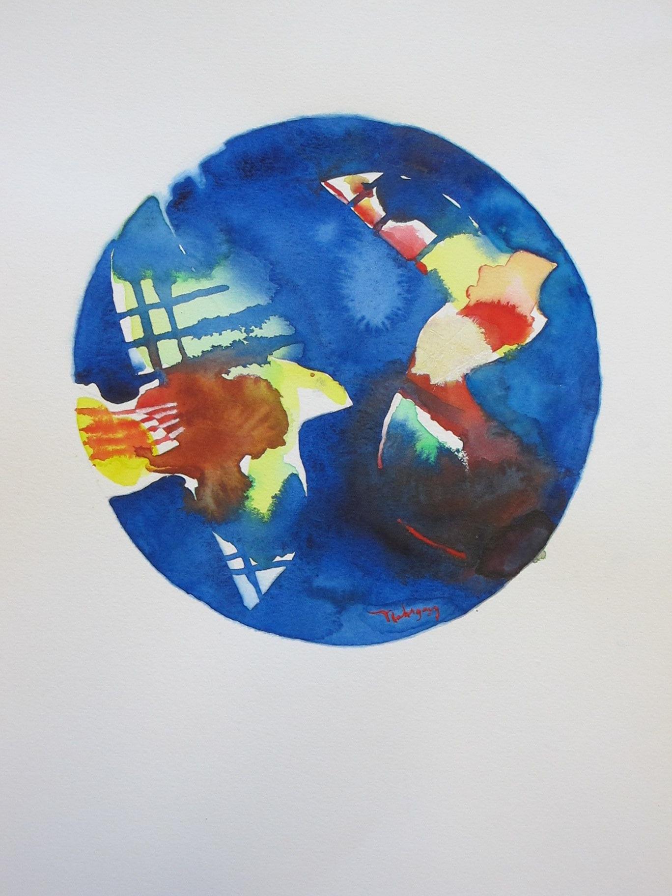 WREN  -  watercolor