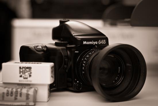 Cubie's Mamiya 645 Pro