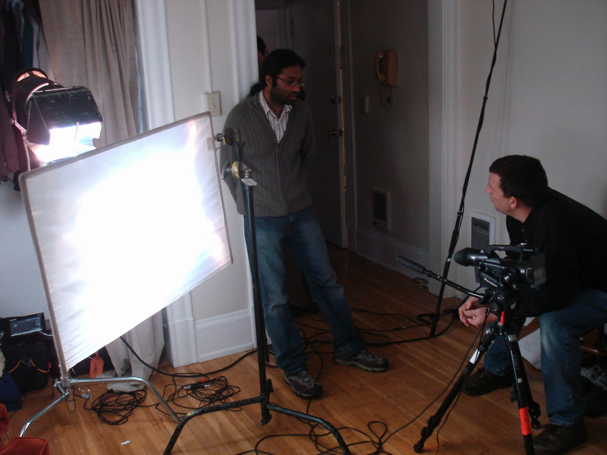 Kunal Mehra & his cinematographer Aron Noll