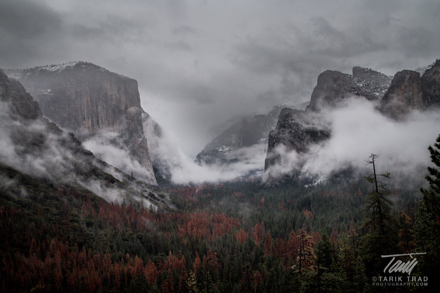 Storm through the Gates of the Valley (in color)