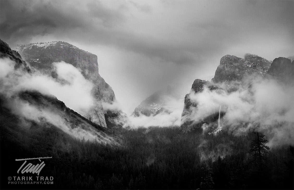 Gates of the Valley, Yosemite National Park.