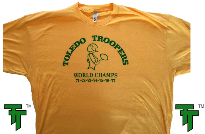 Toledo Troopers ™ World Champs Gold