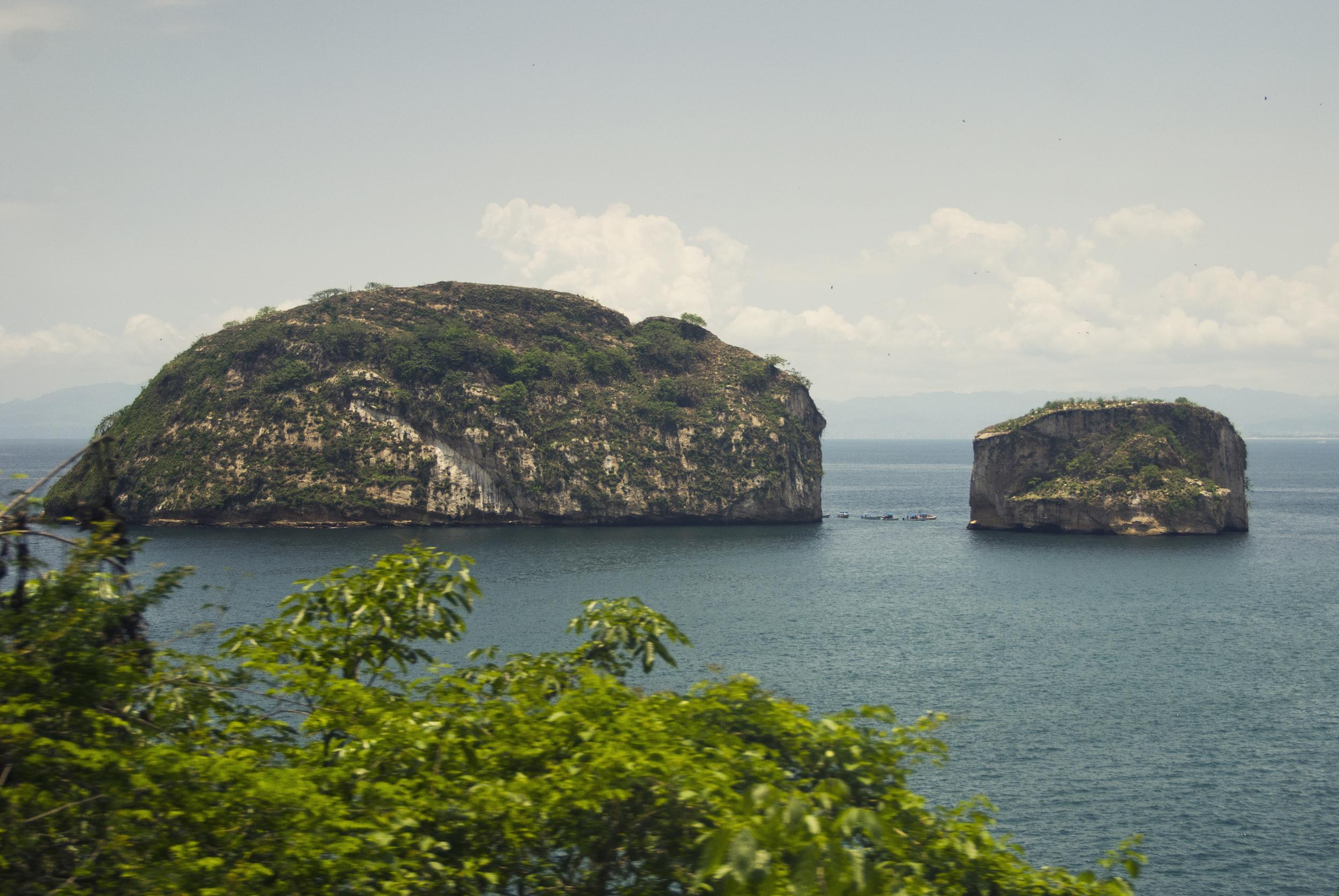islands south of Puerto Vallarta