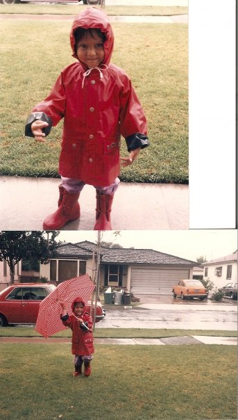 My childhood neighborhood Long Beach, California.