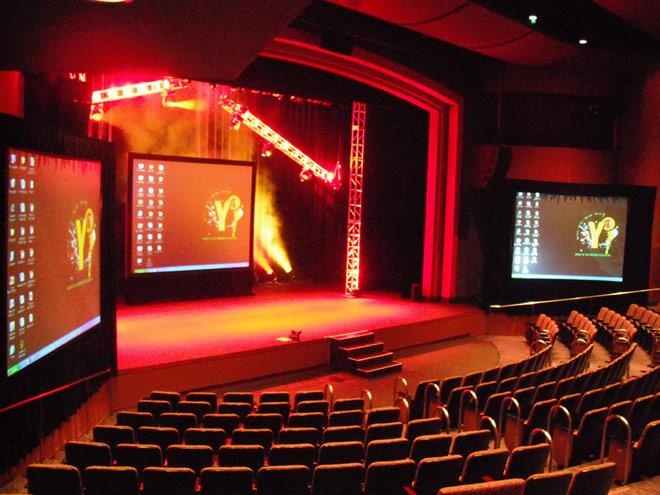 Lewis Family Playhouse - 536 seat proscenium theater.