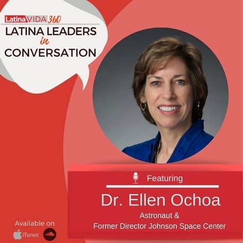 Ellen Ochoa is the first Latina #Astronaut and the first Latina to lead NASA's Johnson Space Center. In this interview, you'll hear about how she joined NASA upon finishing her doctorate at Stanford University and how she played a vital role as the team that built the International Space Station. She also tells about the next generation of NASA missions that will take humans further into space. This conversation is out of this world! ‍ Link in bio 🌎💫 ‍ #LatinaVIDA #LatinaVIDA360 #LatinaLeader #podcast #trailblazer #LatinaCEO #latinaswhopodcast #space #nasa #podcasting http://bit.ly/2vxz40G