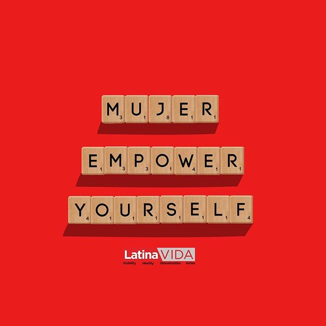 """Mujer, empower yourself"". We at LatinaVIDA give you weekly and updated content with tools that will help you achieve your career goals. #YouCanDoThis stay tuned for everything we have for you #Newsletter #Podcast #minipodcast . . . #phraseoftheday #empoweringwomen #woman #youcandoit #LatinaVIDA #latina #latinagirls"