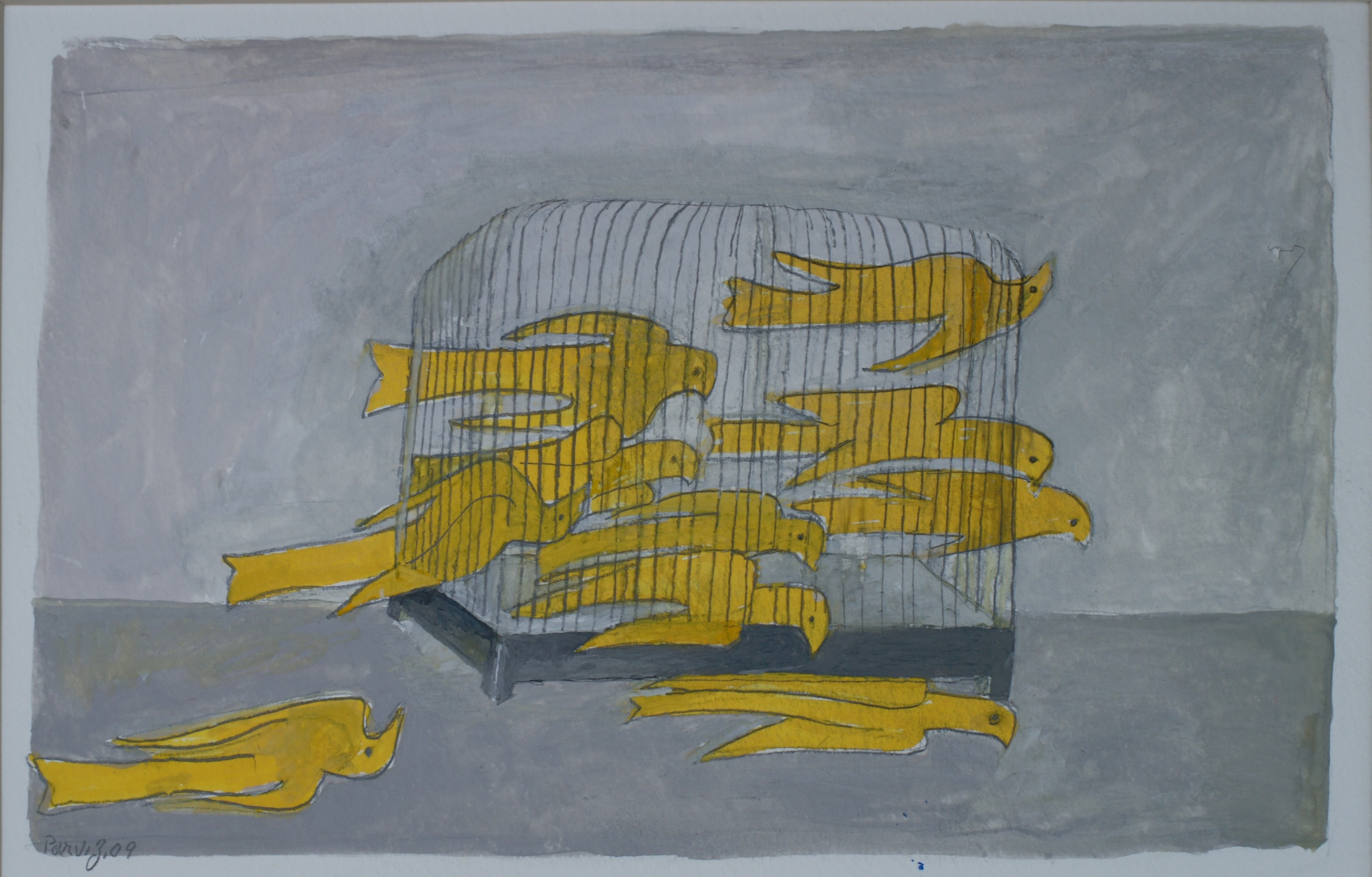 The Birds and Cage (2009)