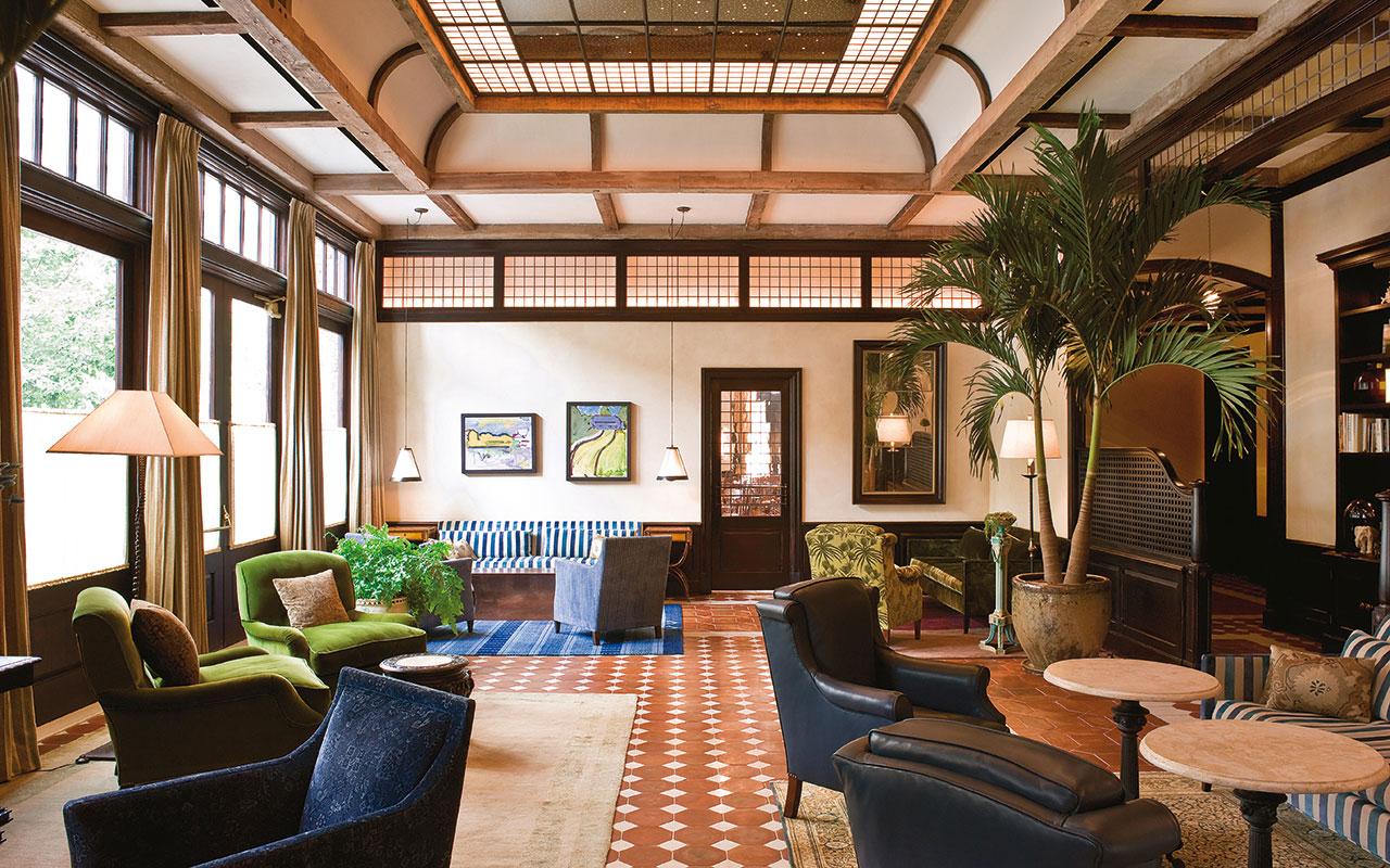 Greenwich Hotel Lobby, New York City