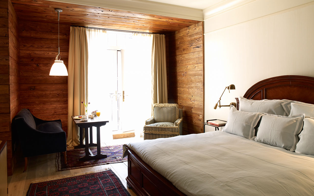Greenwich Hotel Guest Room, New York City