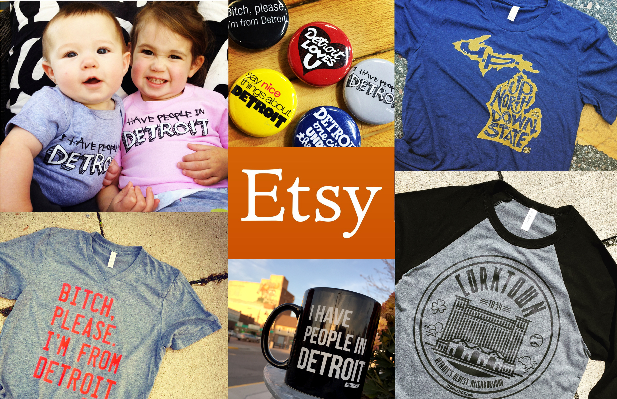 Click on ETSY to go to The Detroit GT Shop