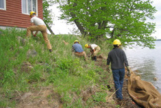Shorelines and riparian areas have special importance to the protection of water quality.