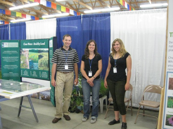 The Washington County Fair is one of many events that we need help staffing to spread the word about clean water!