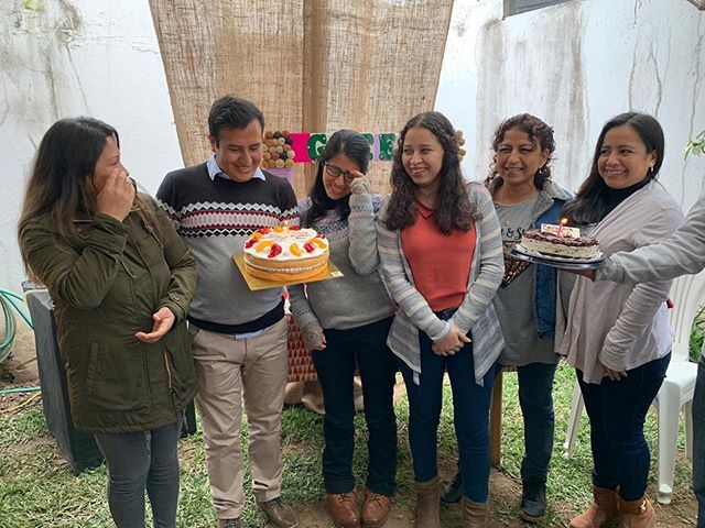 Yesterday we celebrated a company anniversary and all the August staff birthdays. GDL has grown thanks to everyone's hard work, and we salute each one of our team members! 🎉💚 #wearegreen #madeinperu #teamwork