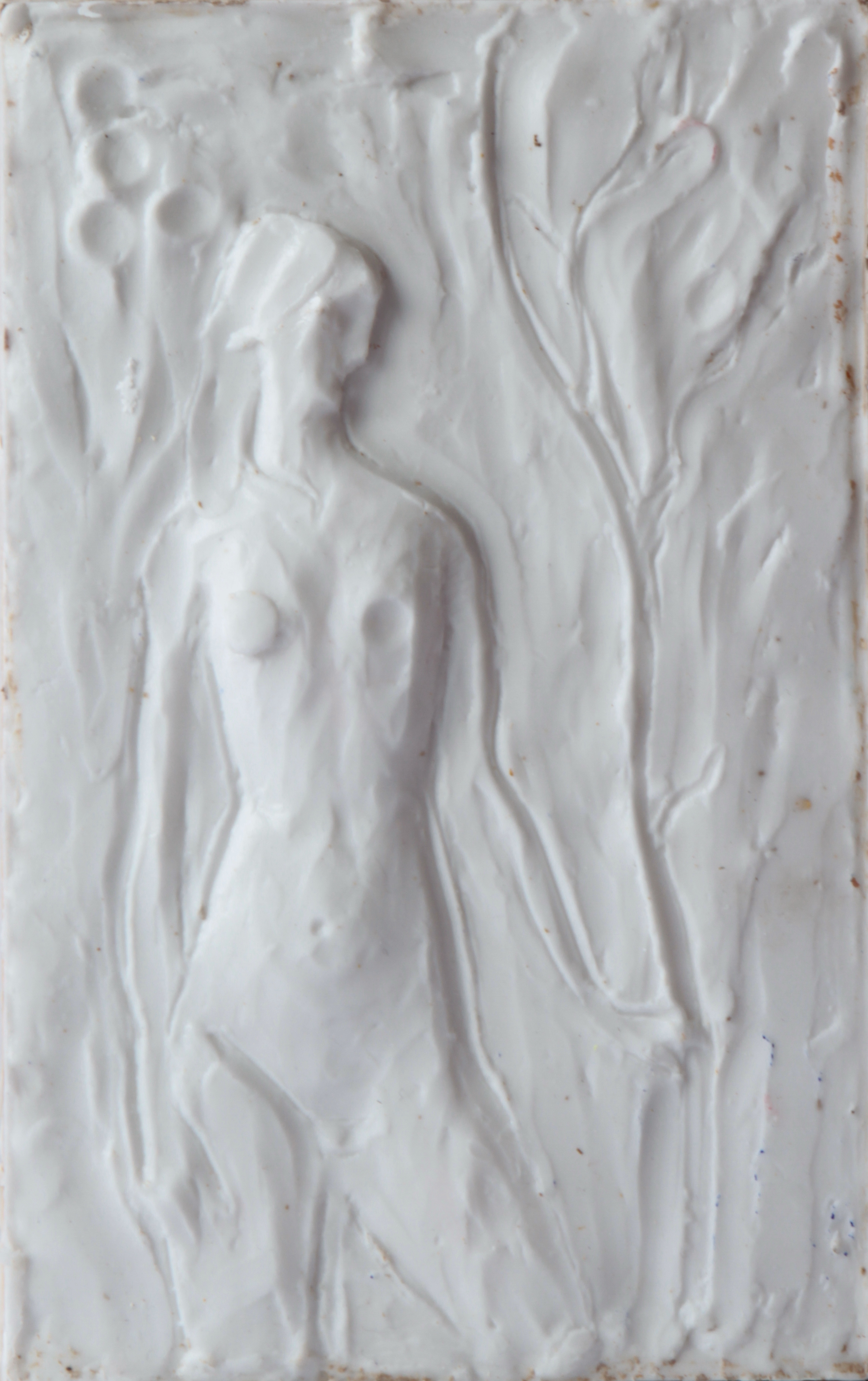 Generations, Silicone rubber (mounted on panel), 36 x 22.7 x 4.7 cm, 2015