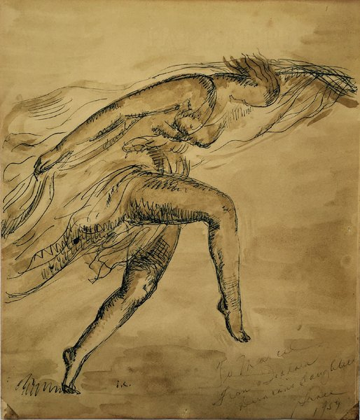 Isadora by Josep Clara. Duncan movement is grounded and honors our personal weight and its connection to the Earth.