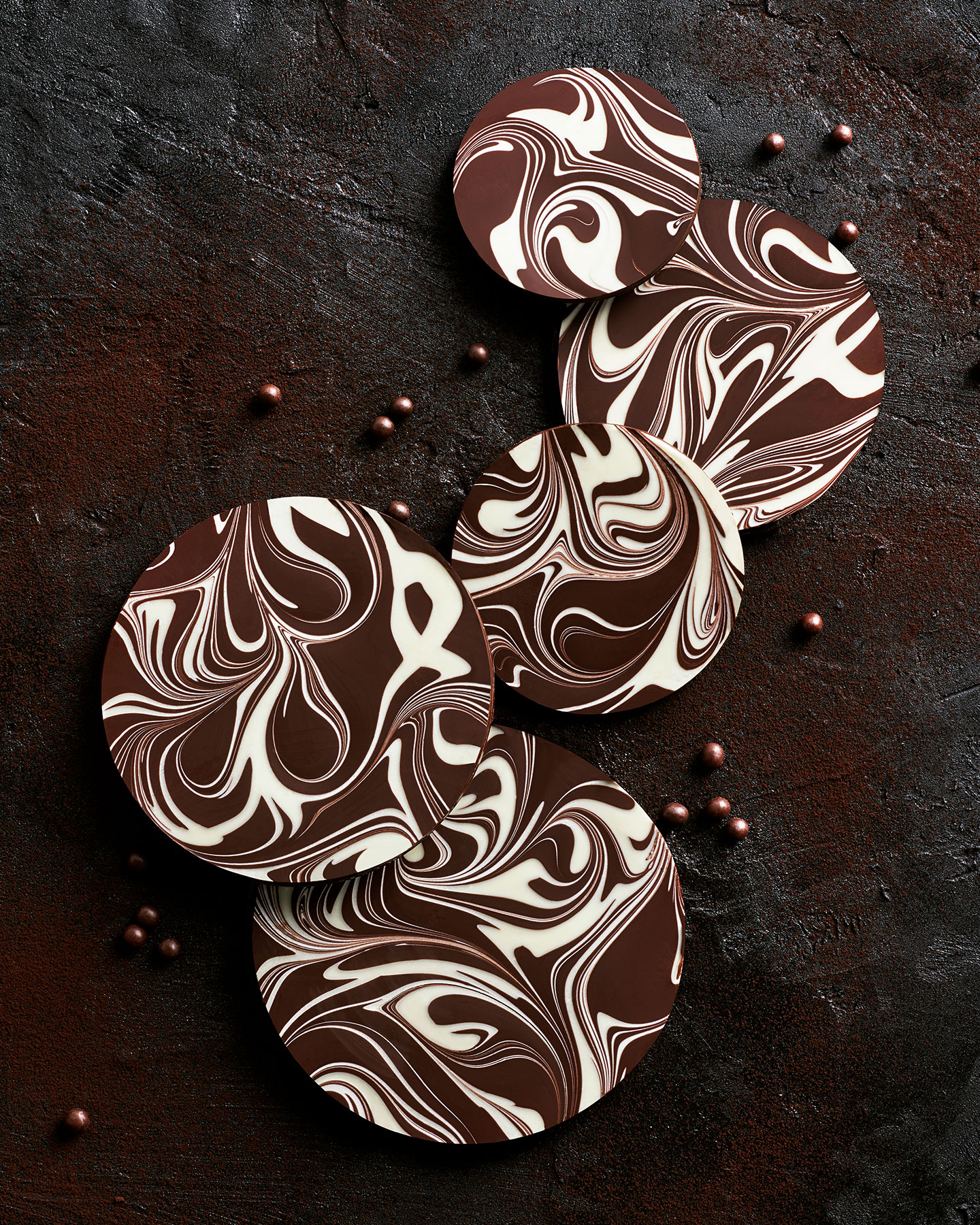 food stylist san francisco Marbled-Choc-White-Candy_Circles.jpg