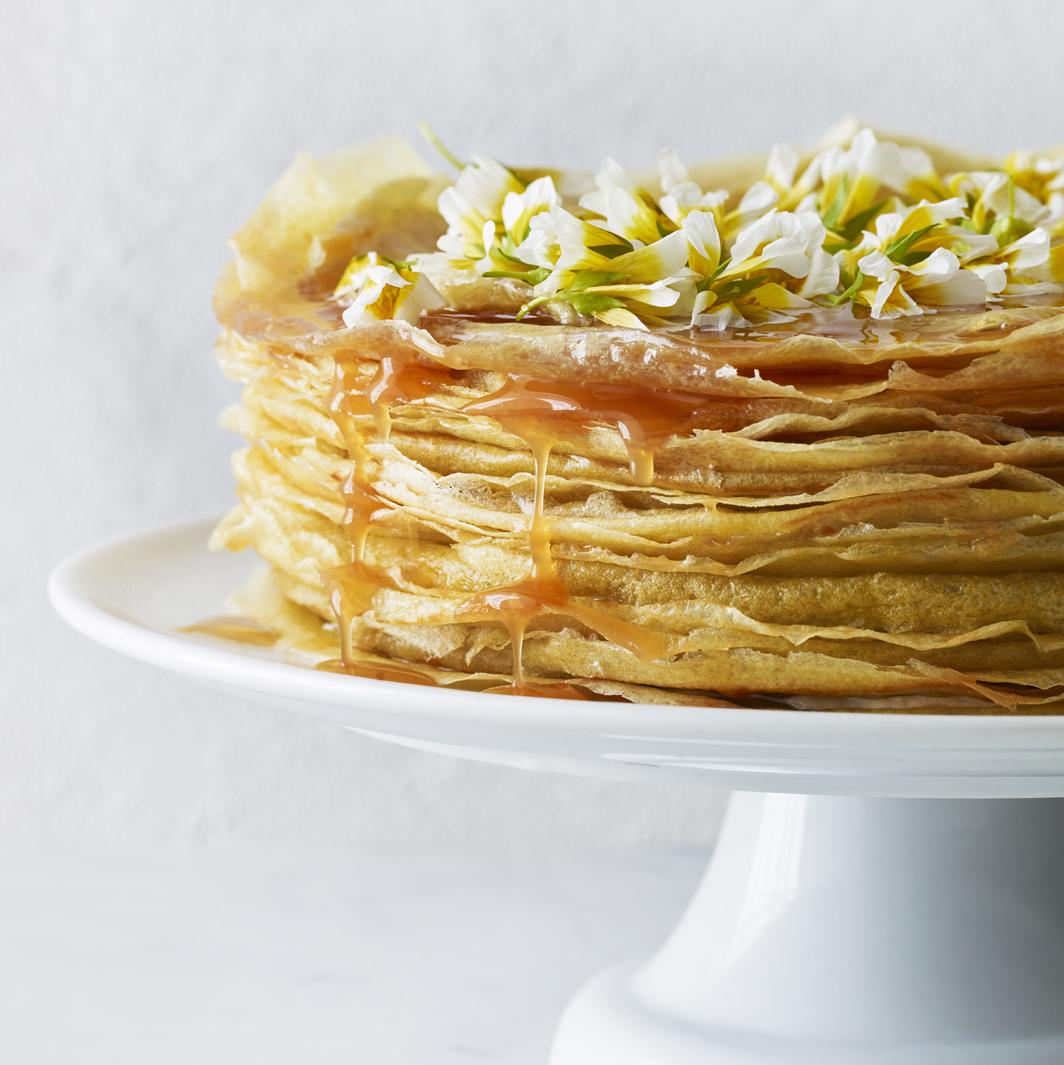 Crepe Cake w Edible  Flowers_plates copy.jpg