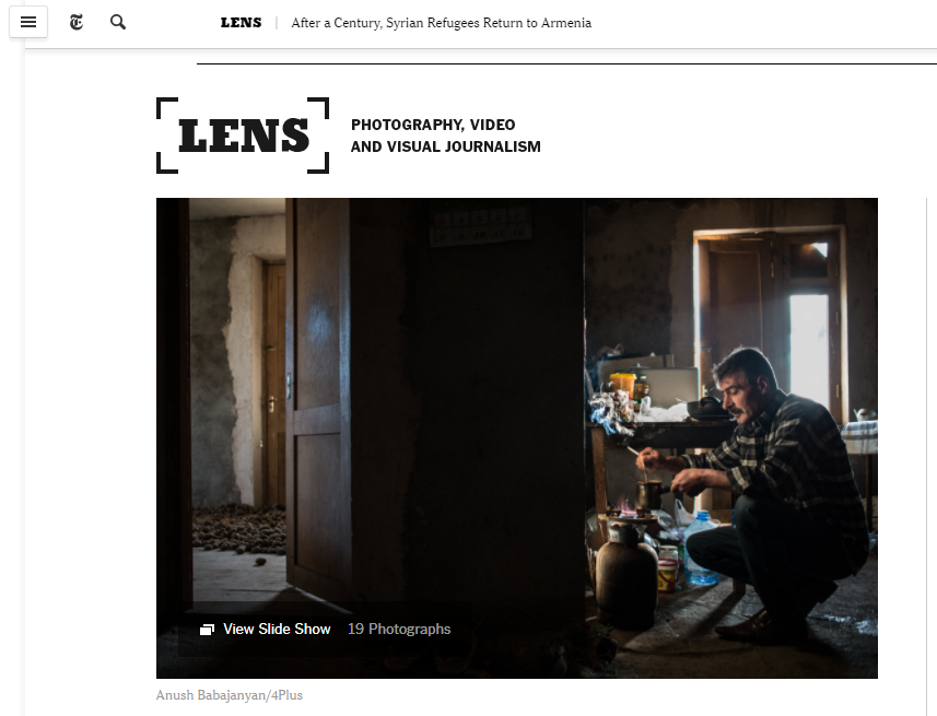 Syrian Armenians in the Lens Blog.png