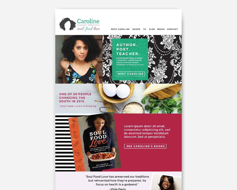 Amy Atkinson Communications Collaboration || Website || Caroline Randall Williams, CarolineRandallWilliams.com