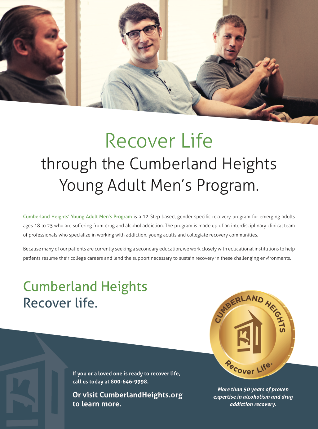 Collaboration with Amy Atkinson Communications || Print Ad || Cumberland Heights