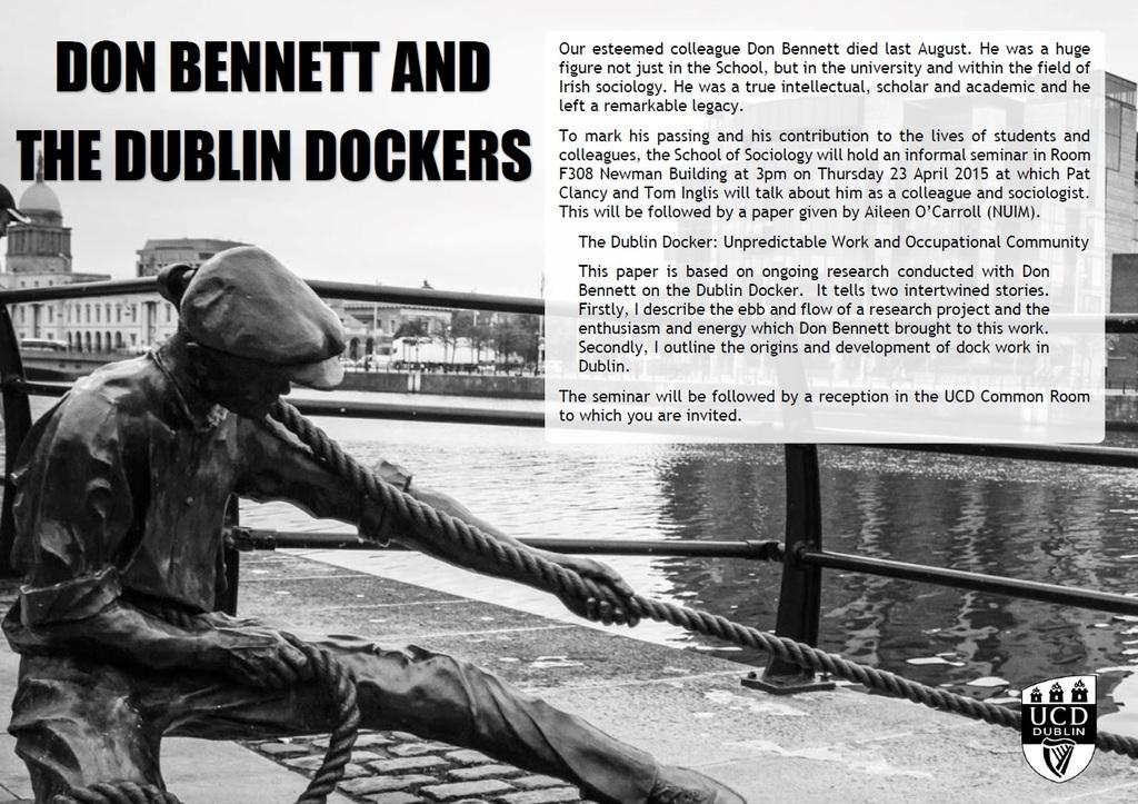 Don Bennett and the Dublin Dockers