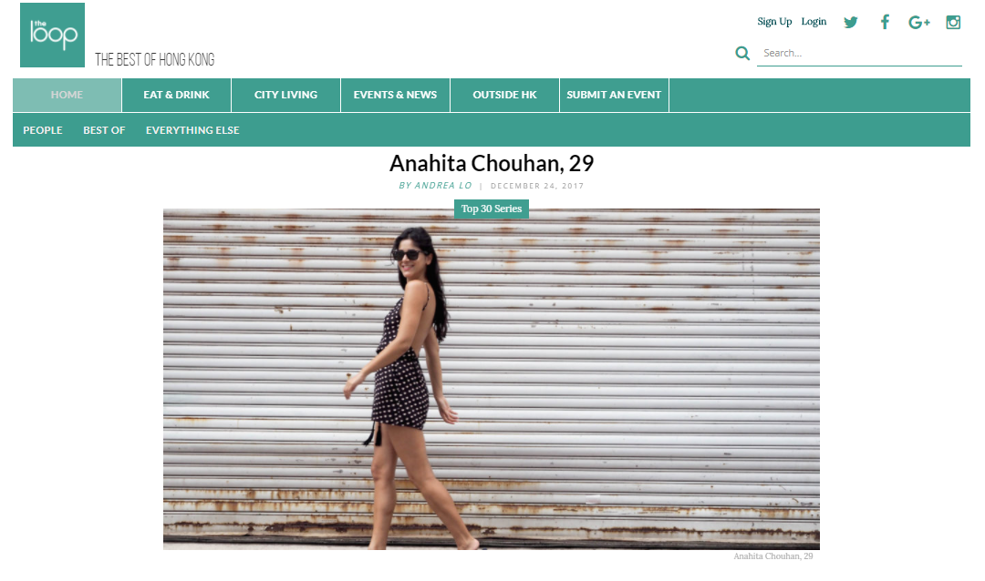 The Loop 30 under 30 Anahita Chouhan.PNG