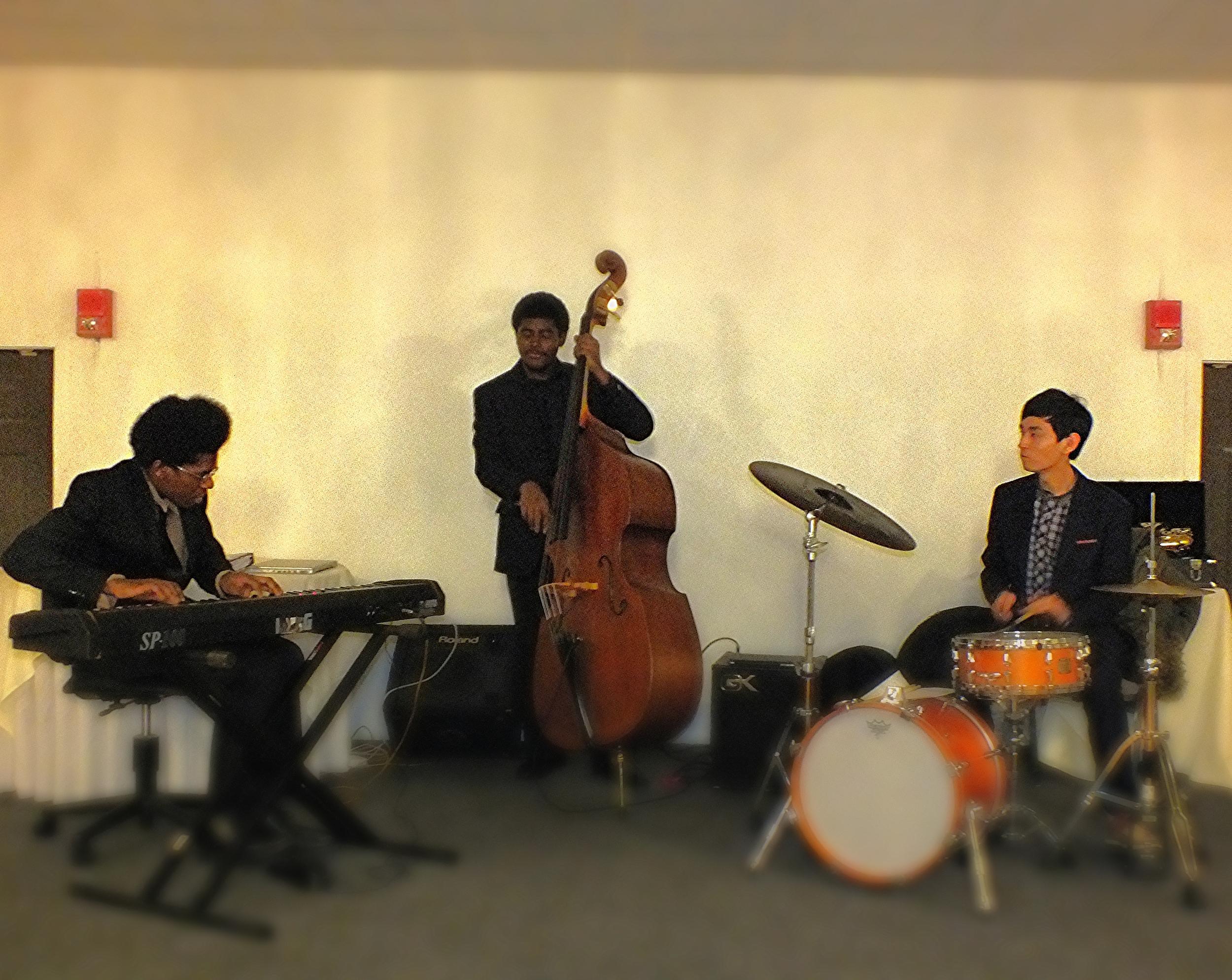 Trio gig for a private event.