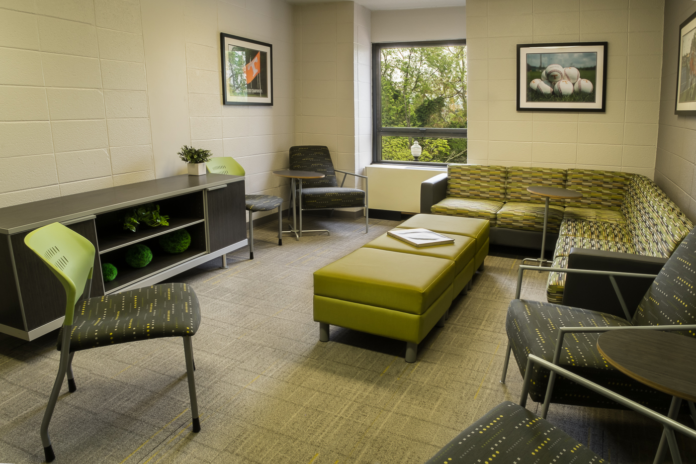 Common room, Reese Hall, The University of Tennessee, Knoxville