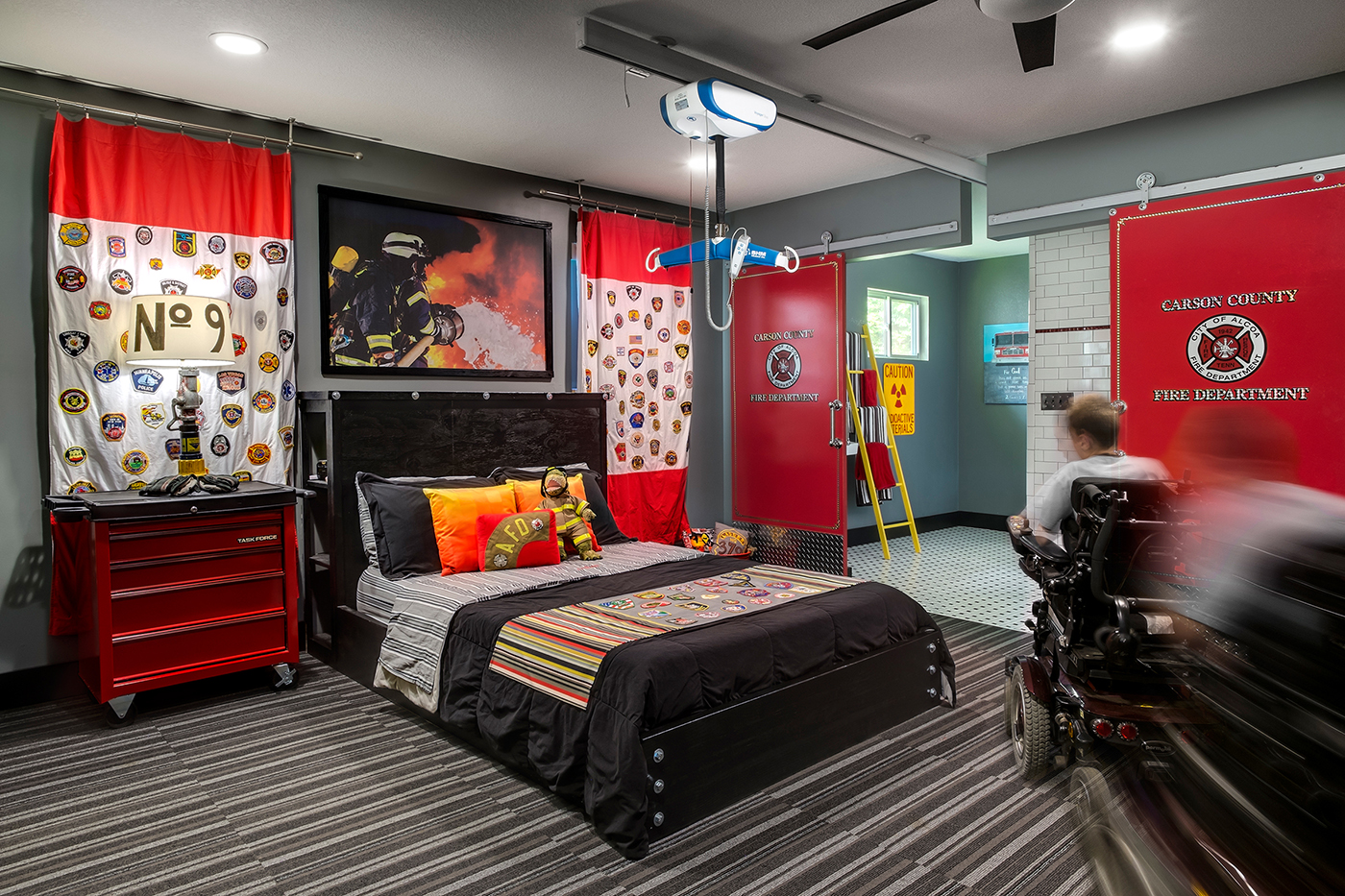 Carson's room for Kingdom Design Ministries, 2015.