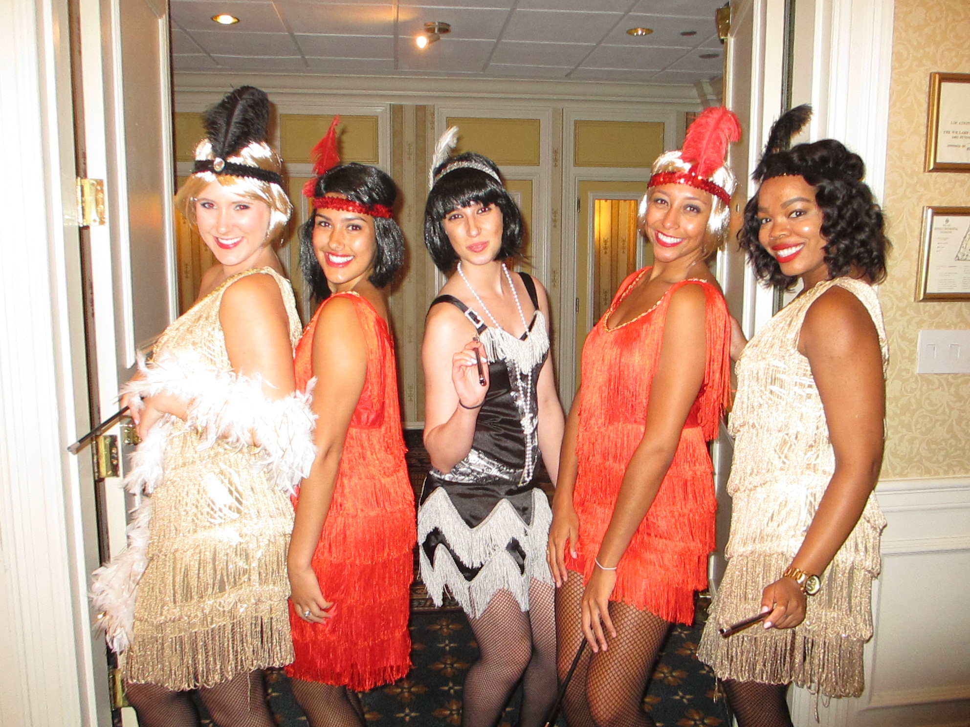 Beauté Flappers Promote a Bravo Entertainment Special Event for Microsoft UK .
