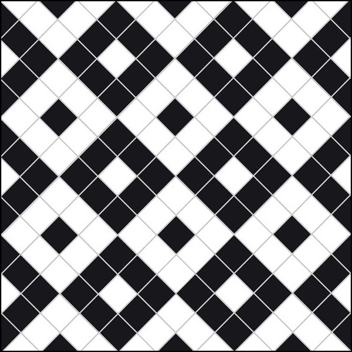 Alternating Boxes - black - £98.50m2