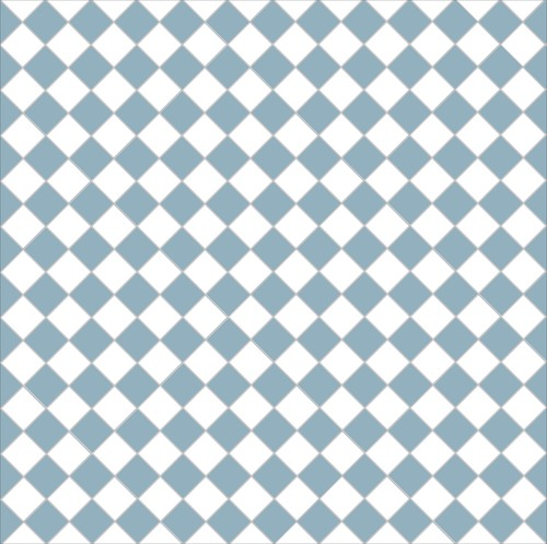 Chequer - blue