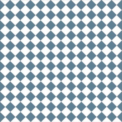 Chequer - dark blue