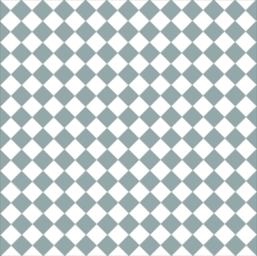 Chequer - pale blue