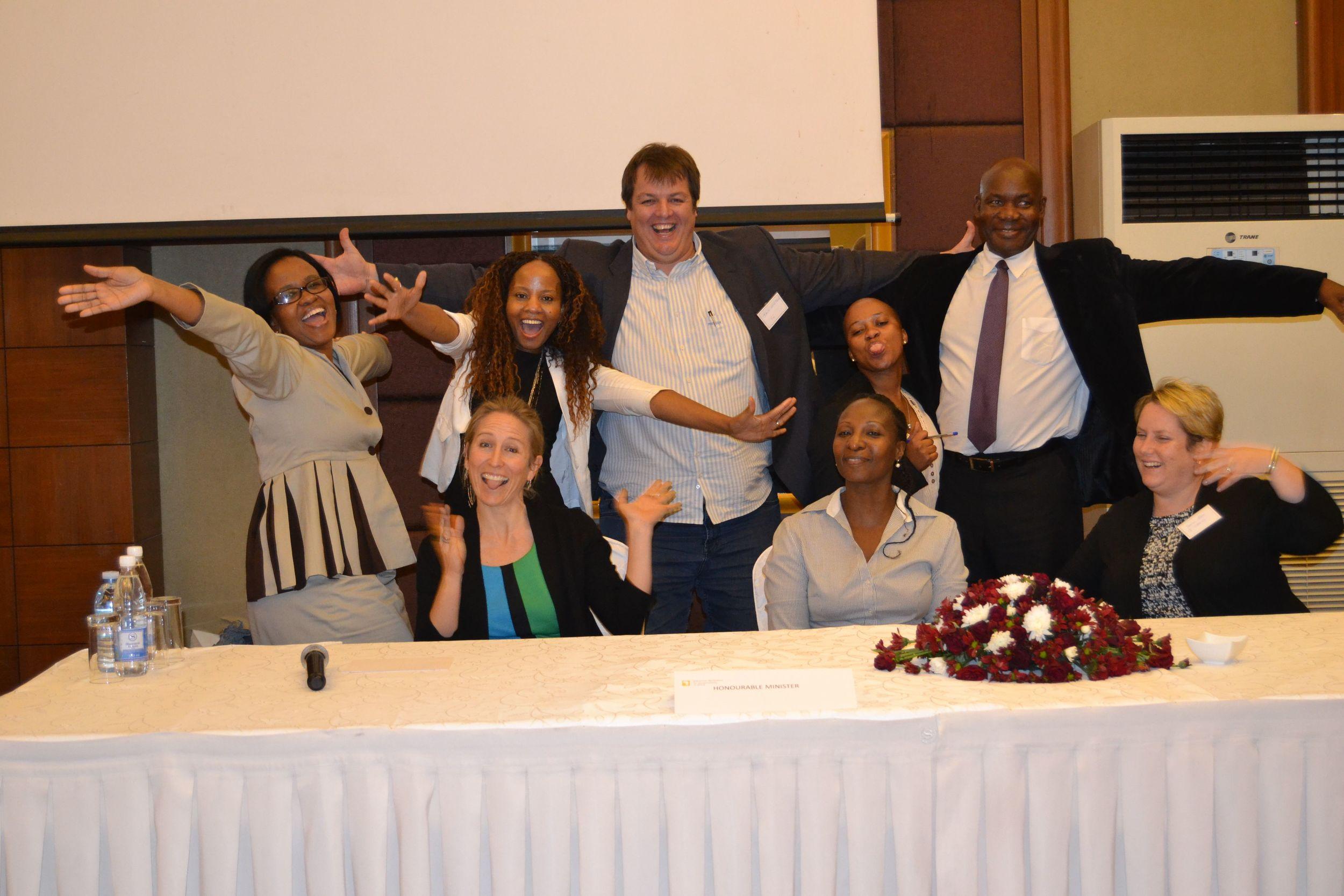 CI staff at the Uganda Roadshow