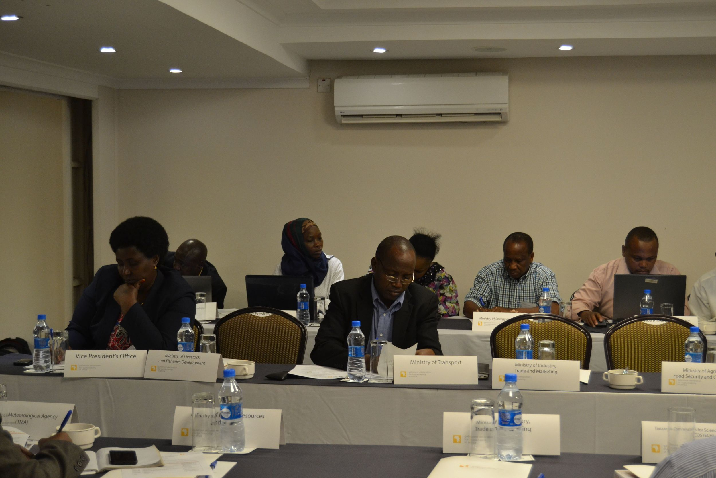Participants at the Gaborone Declaration roadshow in Dar Es Salaam, Tanzania.