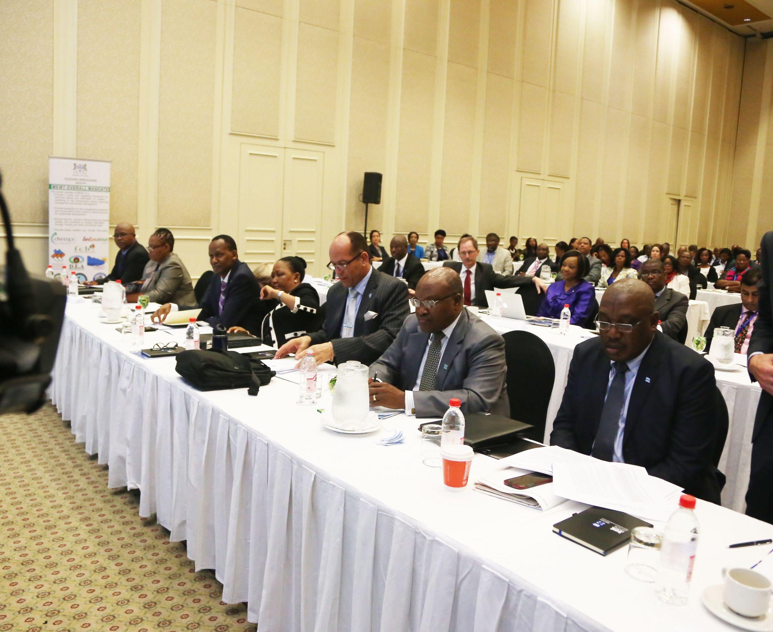 Participants During Botswana's inaugural symposium of sustainable finance. photo courtesy of ms. kefilwe monosi