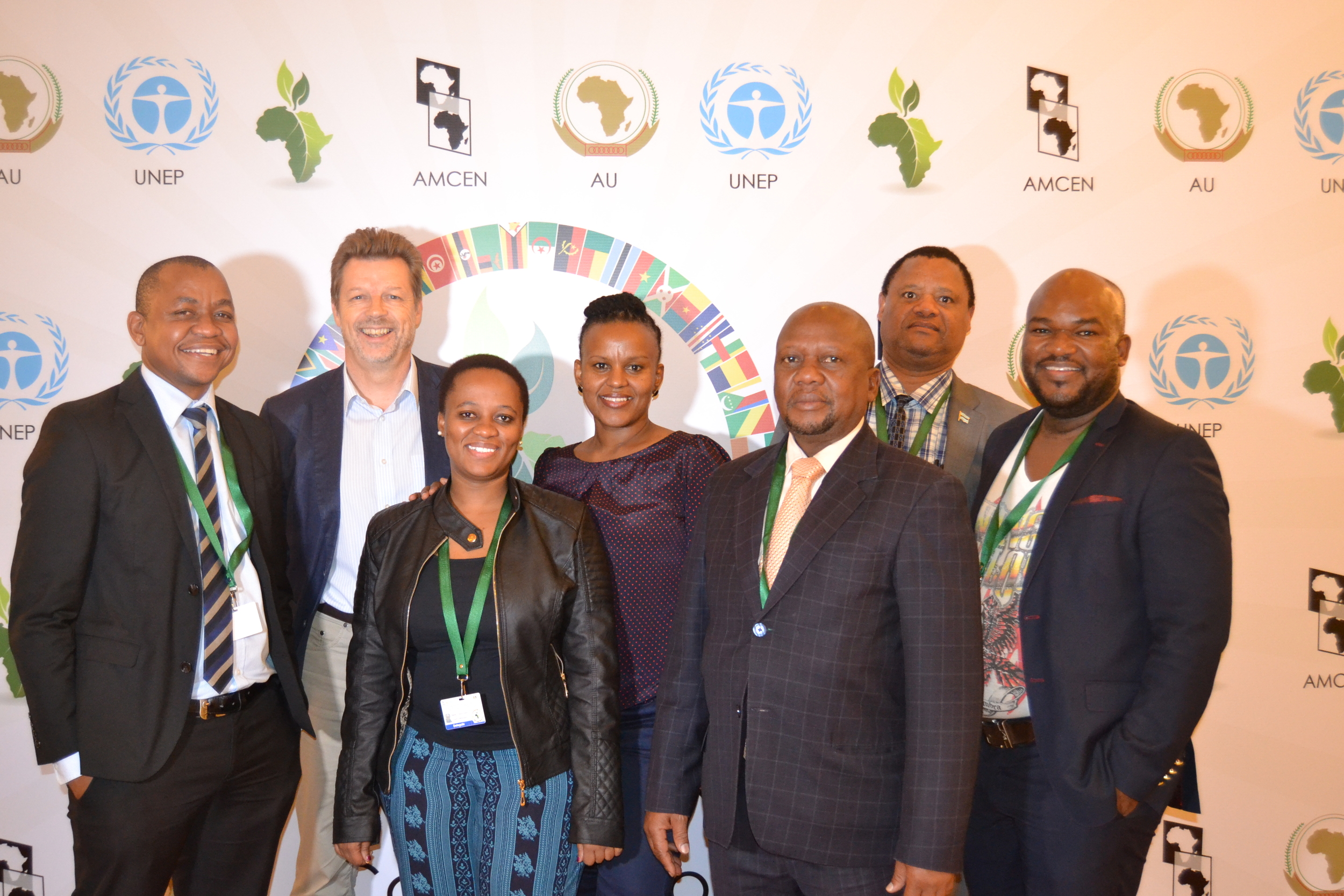 botswana and gdsa delegates to amcen's 6th special session. photo by tiego mpho