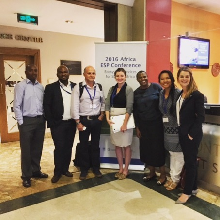 Conference Attendees including both ci and gdsa staff at the 2016 african esp conference.