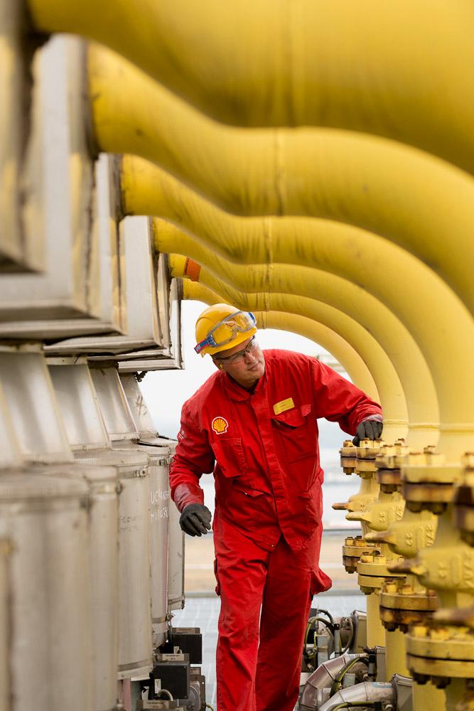 Industriele-fotografie Shell Moerdijk