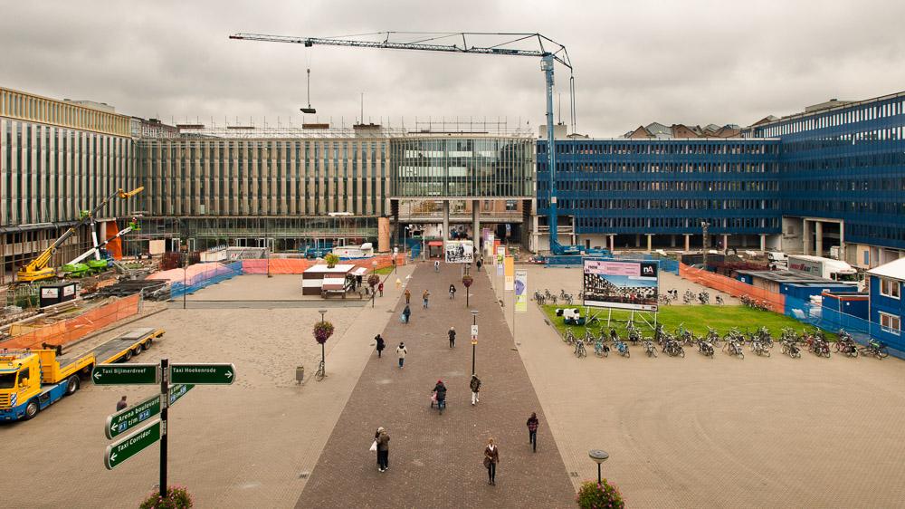 Nieuw Amsterdam in aanbouw 2