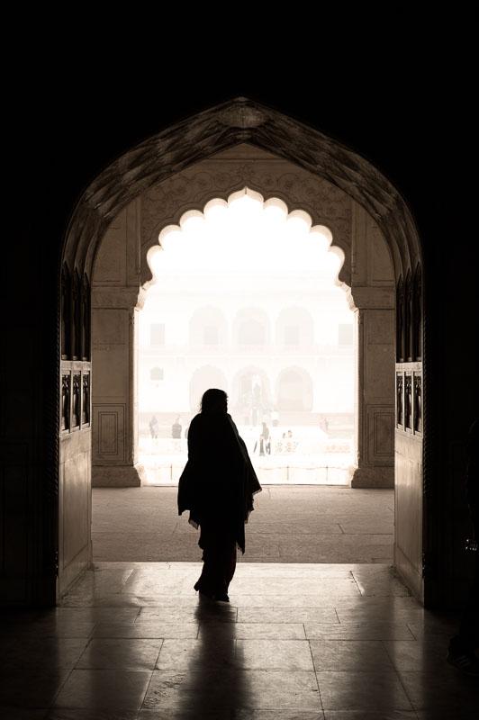 Reisfotografie Red Fort India