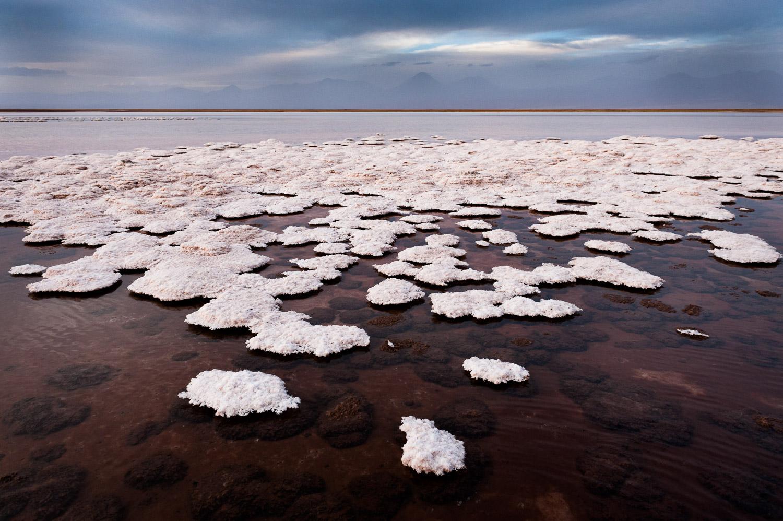 Laguna Tebinquinche, Atacama desert, Chili. Na een opdracht van Hadek ben ik een paar dagen door de Atacama desert gereden.