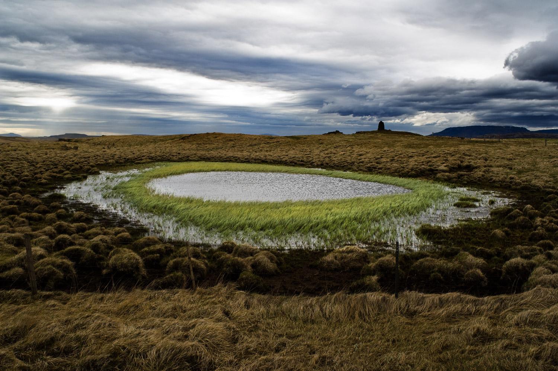Meer in IJsland.