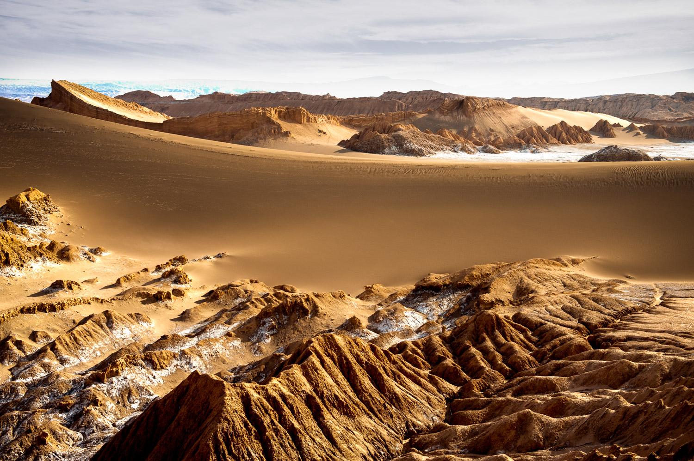 Valle de la Luna,Atacama desert, Chili.